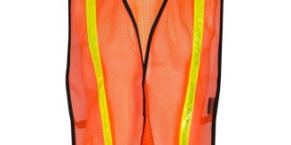 ML Kishigo P-V17 Orange Mesh Vest