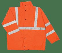 ML Kishigo RW111 Class 3 Orange Rainsuit