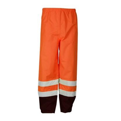 ML Kishigo RWP103 Orange Class E Storm Cover Rainwear Pants