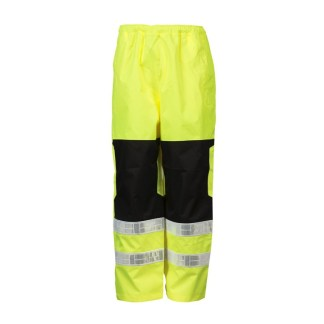 ML Kishigo RWP112 Premium Brilliant Series Class E Lime Rainwear Pants