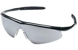 TM117 Tremor® Onyx Frame Silver Mirror Lens