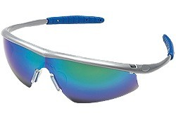 TM14G Tremor® Steel Color Frame, Emerald Mirror Lens
