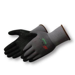 Liberty Gloves F4603 G-Grip Black Nitrile Micro-Foam Dots Palm Glove, Dozen