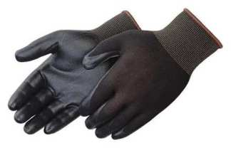 Liberty Gloves F4631BK G-Grip Black Nitrile Foam Coated Palm Glove, Dozen