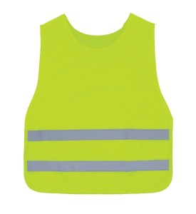 3A Safety K1000 Lime Round Neck Kids Vest