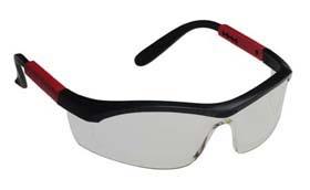 Tornado F5 Safety Glasses - Tornado F5, curved temples