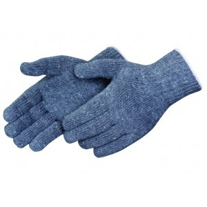 K4517G Standard Gray Cotton/Polyester String Knit Gloves, Dozen