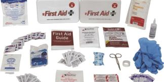 10 Person Class A Type III Metal First Aid Kit