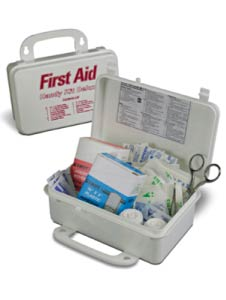 Prostat 10 Person Unit Plastic First Aid Kit 0796