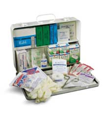 50 Person Unit Plastic First Aid  Kit