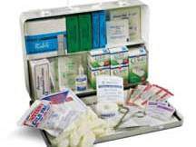 Prostat 50 Person Unit Metal First Aid  Kit