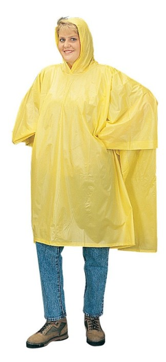 "1026 Yellow Poncho (52"" X 80"")"