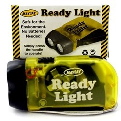 MayDay 11013 Mayday Ready Light Dynamo Flashlight