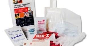 Saftec 17001 Universal Precautions Compliance Kit