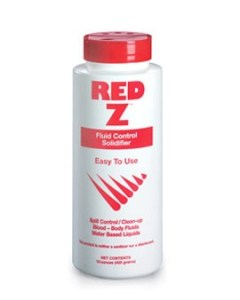 Saftec 41103 Red Z Fluid Control Solidifier 15oz