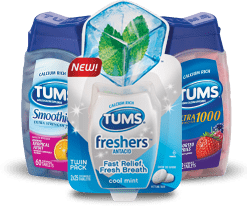 Tums Assorted Fruit Flavor 150/btl