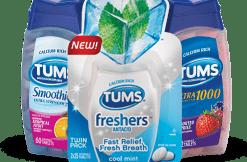 Tums Assorted Fruit Flavor 150/btl