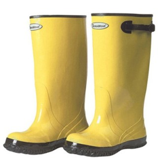 "1510 Yellow 17"" Rubber Slush Boots, Pair"