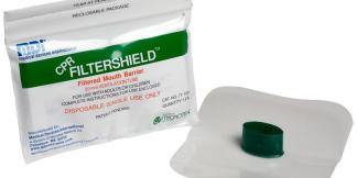 CPR Filtershield Barrier Jr