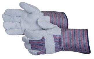 Liberty Gloves 3274 Regular Leather Palm Glove With 4 1/2 inch Plasticized Cuff, Dozen