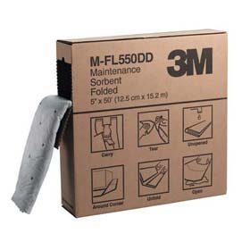 3M Maintenance Sorbent Folded M-FL550DD, High Capacity - Maintenance sorbent, folded
