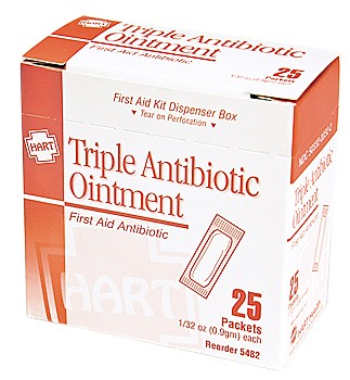 3 in 1 Antibiotic Cream 25/bx