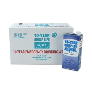 MayDay 73114 10-Year Aqua Literz  1000 ML (33.8 oz) - Case 12