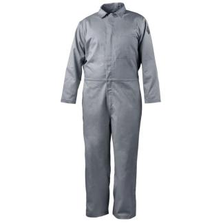 Black Stallion CF4017-GY 7 oz. 88/12 Flame-Resistant Coveralls, Gray