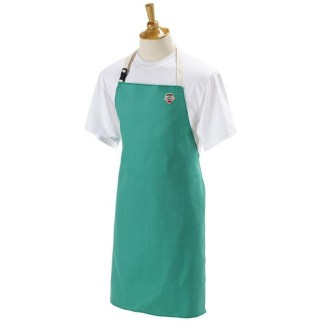 "Black Stallion F9-36A Flame-Resistant Cotton Bib Apron, 36"" Length"