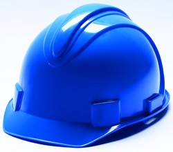 Hard Hats With  4 Point Pinlock Suspension