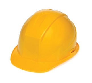 DURASHELL 4 POINT RATCHET SUSPENSION YELLOW HARD HAT