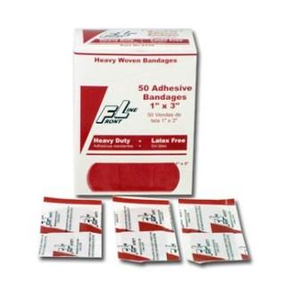 "ProStat 2170 Heavy Woven Bandages, 1"" x 3"", 50/Box"