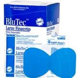 Blue Metal Detectable Finger Tip Bandage 50ct.