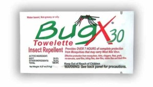 Coretex BugX30 Insect Towelettes 10 ct.