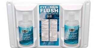 Double 32 oz. Eyewash Station