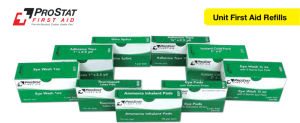 ProStat 2822 Eye Wash 1/2 oz w/ 2 Eye Pads, 1 per box