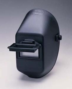 990P Welding helmet w/ quick-slide glass holder