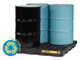 Justrite 28653 EcoPolyBlend Accumulation Centers