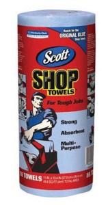 SCOTT Shop Towels - SCOTT Shop Towels, 55/Rl