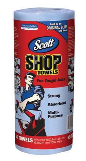 SCOTT Shop Towels - SCOTT Shop Towels, 200/Bx