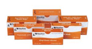 ProStat 2519 Red Biohazard Waste Bags, 2 per box