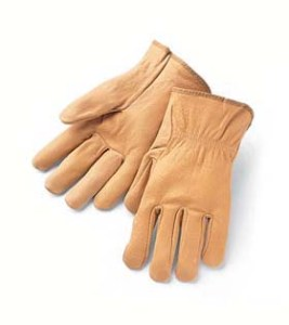 Pigskin Drivers Gloves
