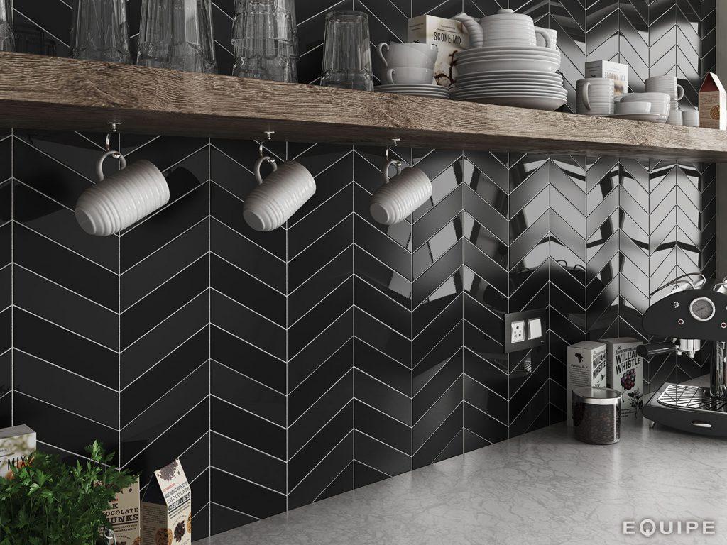 collection chevron wall equipe ceramicas