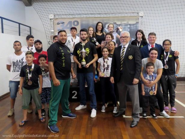 Fotos do 34º Campeonato Brasileiro KarateDo Goju Ryu IKGA 2018 Osasco São Paulo – 3º Lugar Geral