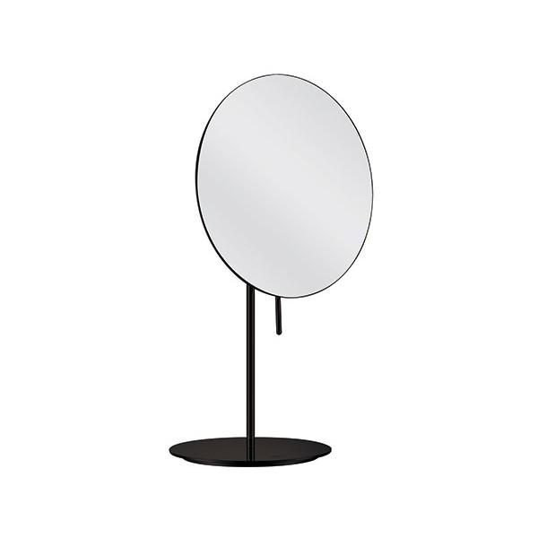 Miroir Grossissant Sur Pied Cosmo Nexxus O20 Cm Laiton Noir Mat H35 3 Cm