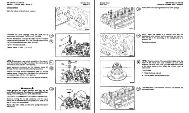 Iseki 3 Cylinder Diesel Engine Service Manual (2004 & Earlier)
