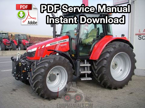 massey ferguson 6400 series tractor service repair manual rh equipmanuals com massey ferguson 6480 operators manual massey ferguson 6480 service manual