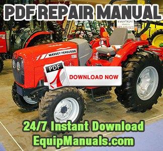 Massey Ferguson 1533, 1540 Tractor Service Repair Manual