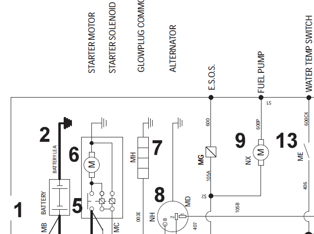 1995 international 8100 wiring diagram 1995 freightliner
