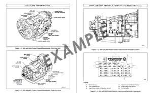 Allison Transmission Manual Sample